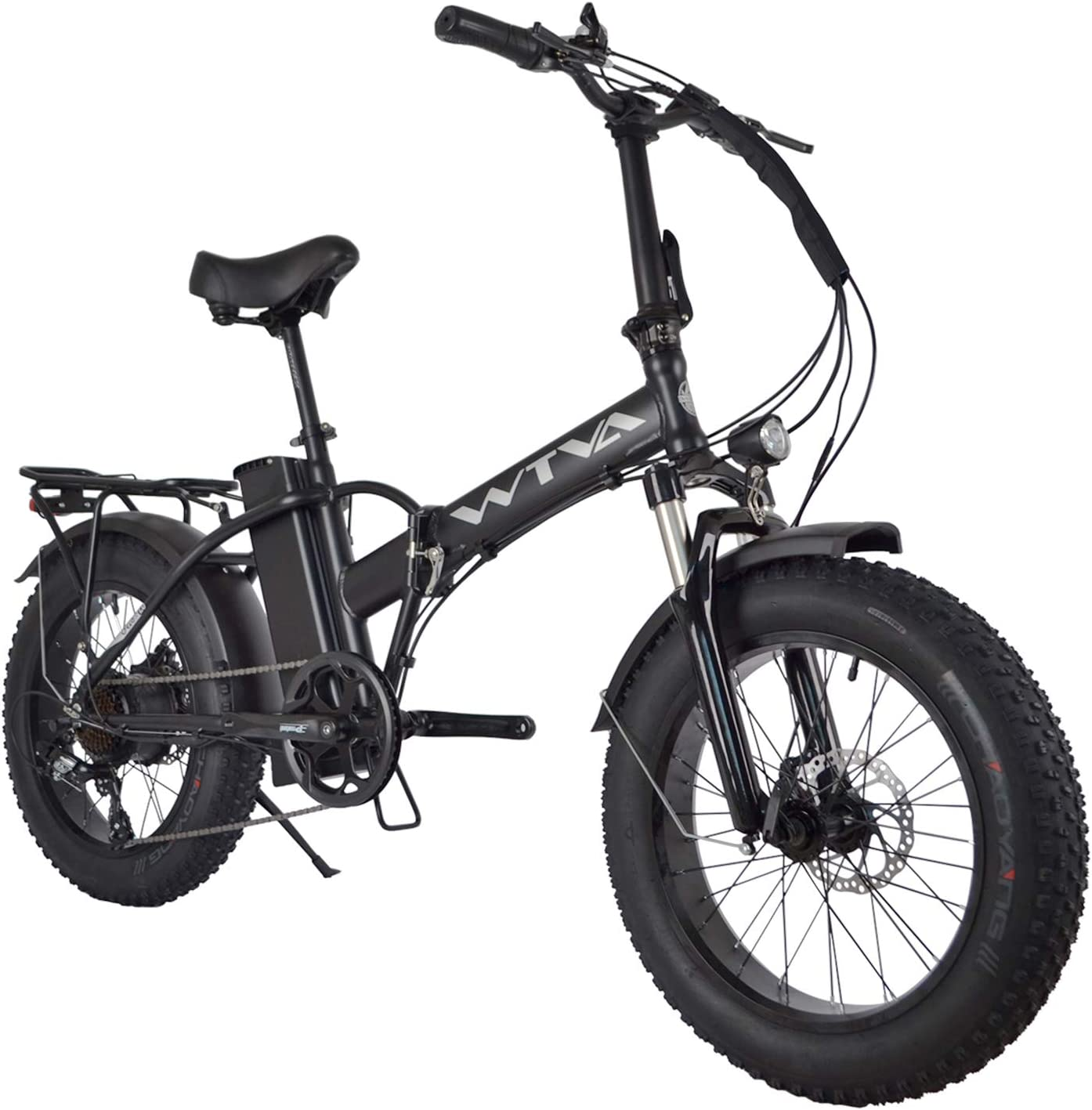 WTVA 20'' Fat Tires Foldable Electric Power SEAL limited product Time sale Motor Bike 750W with