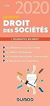 Livres Le petit Droit des sociétés 2020 - L'essentiel en bref: L'essentiel en bref (2020) PDF