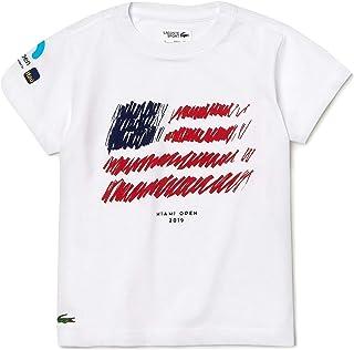 Lacoste Boys' Kids' Sport Miami Open Edition Americana T-Shirt
