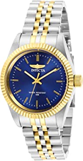 Invicta Women's Specialty Quartz Watch with Stainless Steel Strap, Two Tone, 18 (Model: 29403)