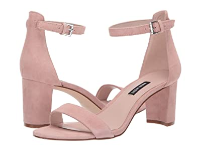 Nine West Pruce Block Heel Sandal (Modern Pink) High Heels