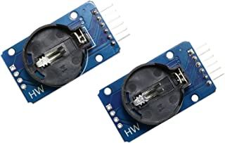 Magic&shell 2PCS DS3231 AT24C32 IIC High Precision Real Time Clock Module RTC Module for Arduino Raspberry Pi