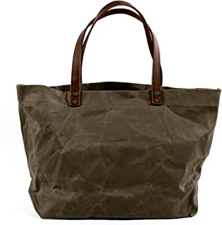 Best men's waxed canvas tote bag Reviews
