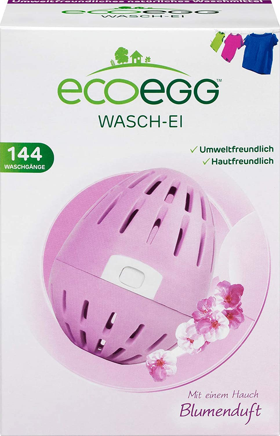 ECOEGG WASH Egg with Floral Natura Replaces - Special Campaign Max 69% OFF Detergents Scent