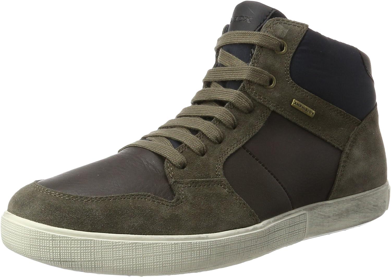 Geox Men's U TAIKI B ABX A - Suede+Nylon Sneakers