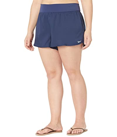 Nike Plus Size Swim Boardshorts (Midnight Navy) Women
