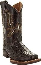 Soto Boots Kids Gator Print Square Toe Cowboy Boots K4002