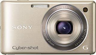 Sony DSCW380N Cyber-shot Digital Camera - Gold (14.1 MP, 5x Optical Zoom) 2.7 inch LCD