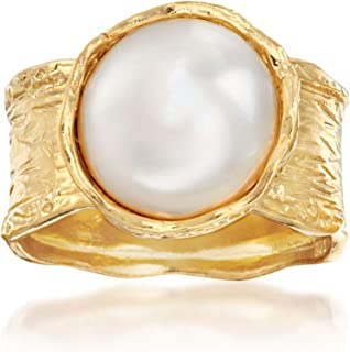 Best pearl with gold ring Reviews
