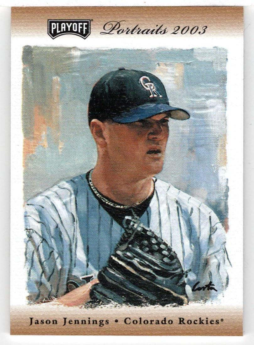 4 years warranty Jason Jennings 37 Sales 100 - Colorado Rockies 2003 Pl Card Baseball