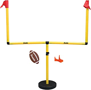 Franklin Sports Youth Football Goal-Post Set — Kids' Football Goal Post with Mini..