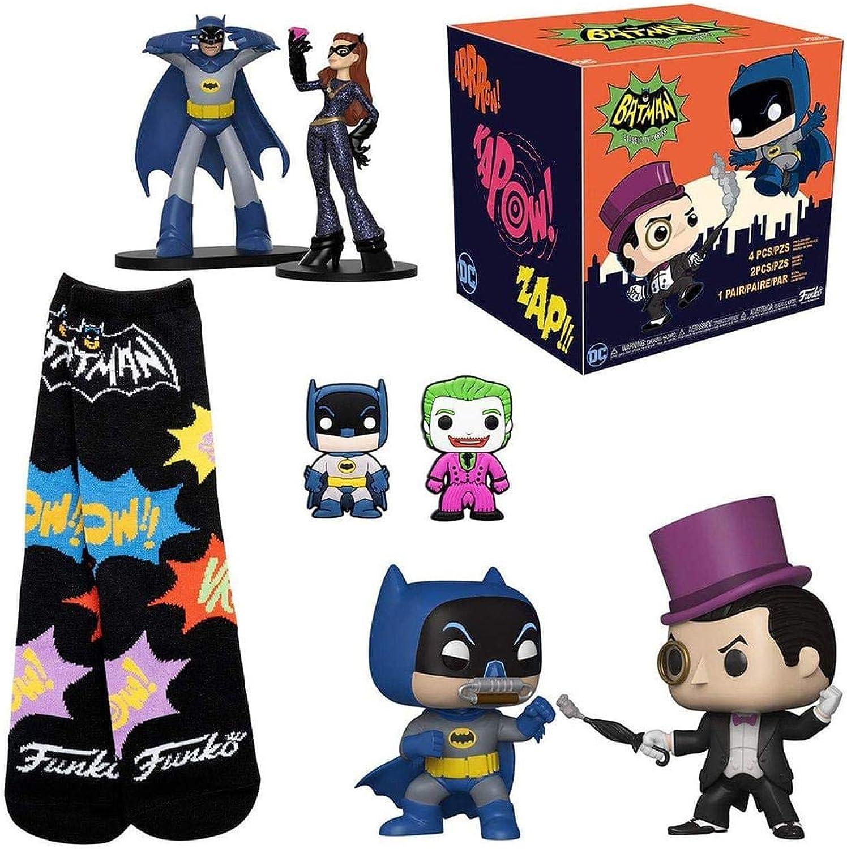 Batman Classic TV Series Funko Collectors Box  7 Pieces