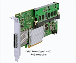 Dell PERC H800 RAID Controller Card for PowerEdge and PowerVault. Adapter with 2 External ports supports SAS 2.0 6Gb/s and x8 PCIe 2.0 slot P/N NH118