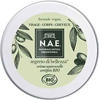 N.A.E. - Crème Universelle Hydratante - Visage Corps Cheveux - Certifiée Bio - A l'Huile d'Olive - 98% d'ingrédients d'ori...