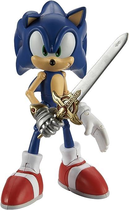 Amazon Com Sonic The Hedgehog Figura Sonic Y El Caballero Negro Toys Games