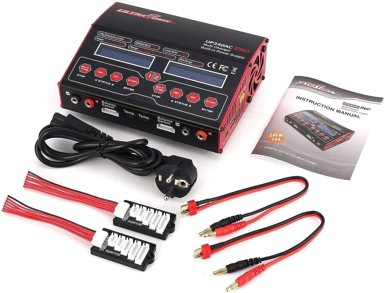 Heaviesk für Ultra Power UP 240 AC Duo 240W 2in1 LiIo   LiPo   Life   NiMH   Nicd-Akku RC-Balance-Ladegert Entlader für RC-Drohne