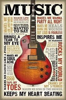 Best cool guitar posters Reviews