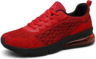 Mens Womens Sports Running Shoes Air Cushion Sneaker Tennis Gym Walking