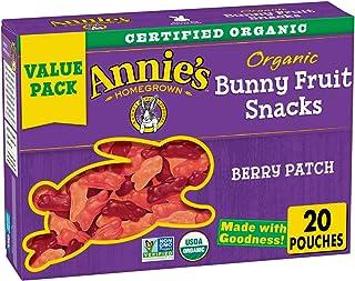 Annie's Organic Berry Patch Bunny Fruit Snacks, Gluten Free, 16 oz