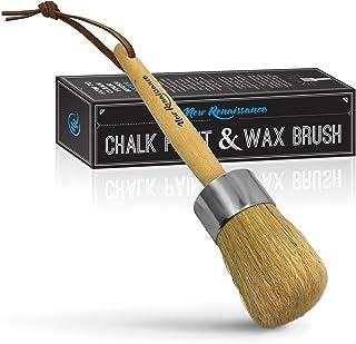 New Renaissance Profesional Tiza Pintura Pintura Cera cepillo o depilación con cera natural Con Cerdas Cerdas Puras Cepillo grande
