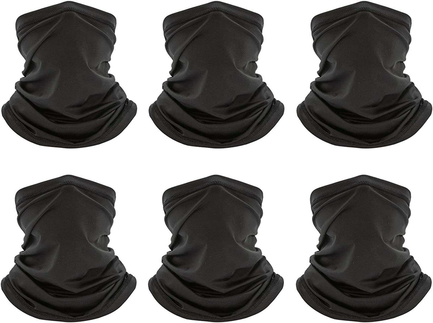 Peicees Popular 6 PCS Neck Gaiter Face SEAL limited product Men Nec Breathable Women for Mask