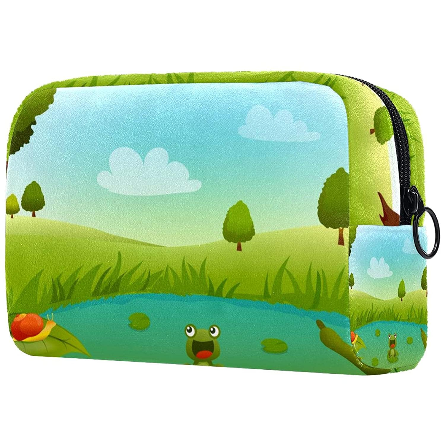 Frog In Luxury goods Swamp Makeup Bags Portable Cosmetics Very popular Travel Bag Cos Tote