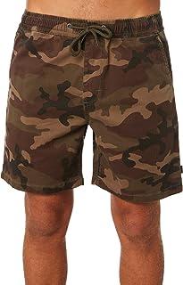 Rip Curl Men's Savage 18 Elastic Mens Short Cotton Stretch Elastane Grey