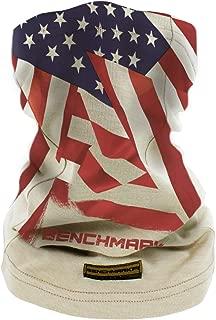 BENCHMARK FR Flame Resistant Face Mask Neck Gaiter, One Size, Soft FRC