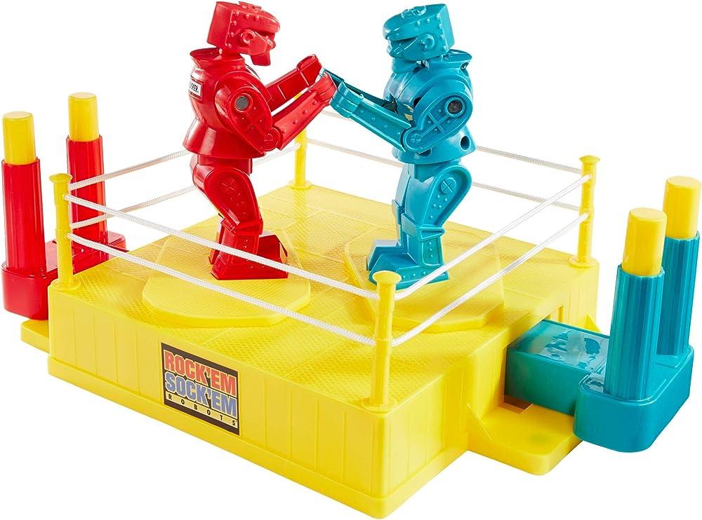 Mattel, rock`em sock`em robots, gioco robot da combattimento CCX97