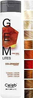 Celeb Luxury Gem Lites Colorwash: Color Depositing Shampoo, Stops Fade, Cleanse + Color,..