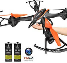 Cool Big Size Drone with FPV 720P HD Camera, APP Gravity Control, U842 Drone, One Key Return, 3D Flips and Headless Mode, for Beginners & Kids