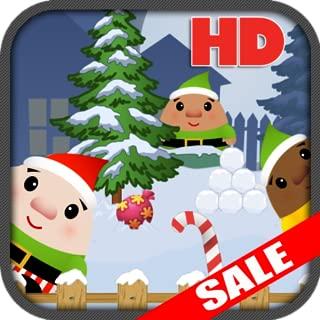 Funny Santas Elf Snowball Fight Christmas Kids Game (KindleFire HD Edition)