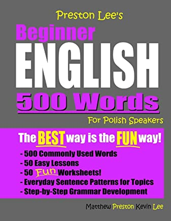 Preston Lees Beginner English 500 Words For Polish Speakers