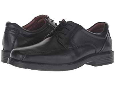 Johnston & Murphy Waterproof XC4(R) Stanton Run Off Lace-Up (Black Waterproof Calfskin) Men