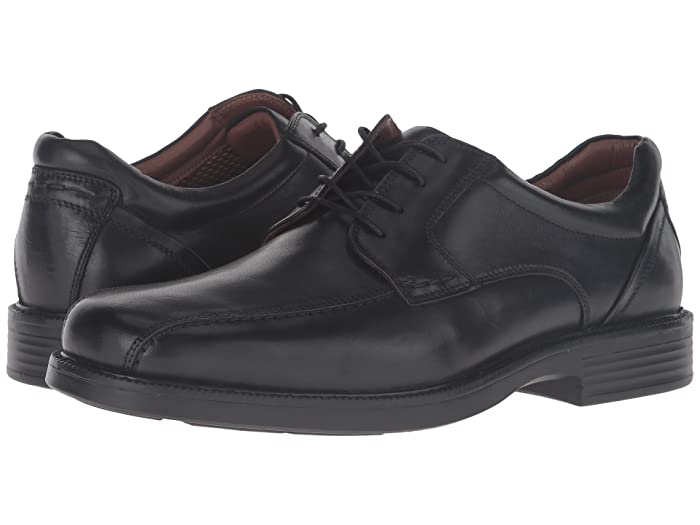 Johnston and Murphy  Waterproof XC4 Stanton Run Off Lace-Up (Black Waterproof Calfskin) Mens Lace Up Wing Tip Shoes
