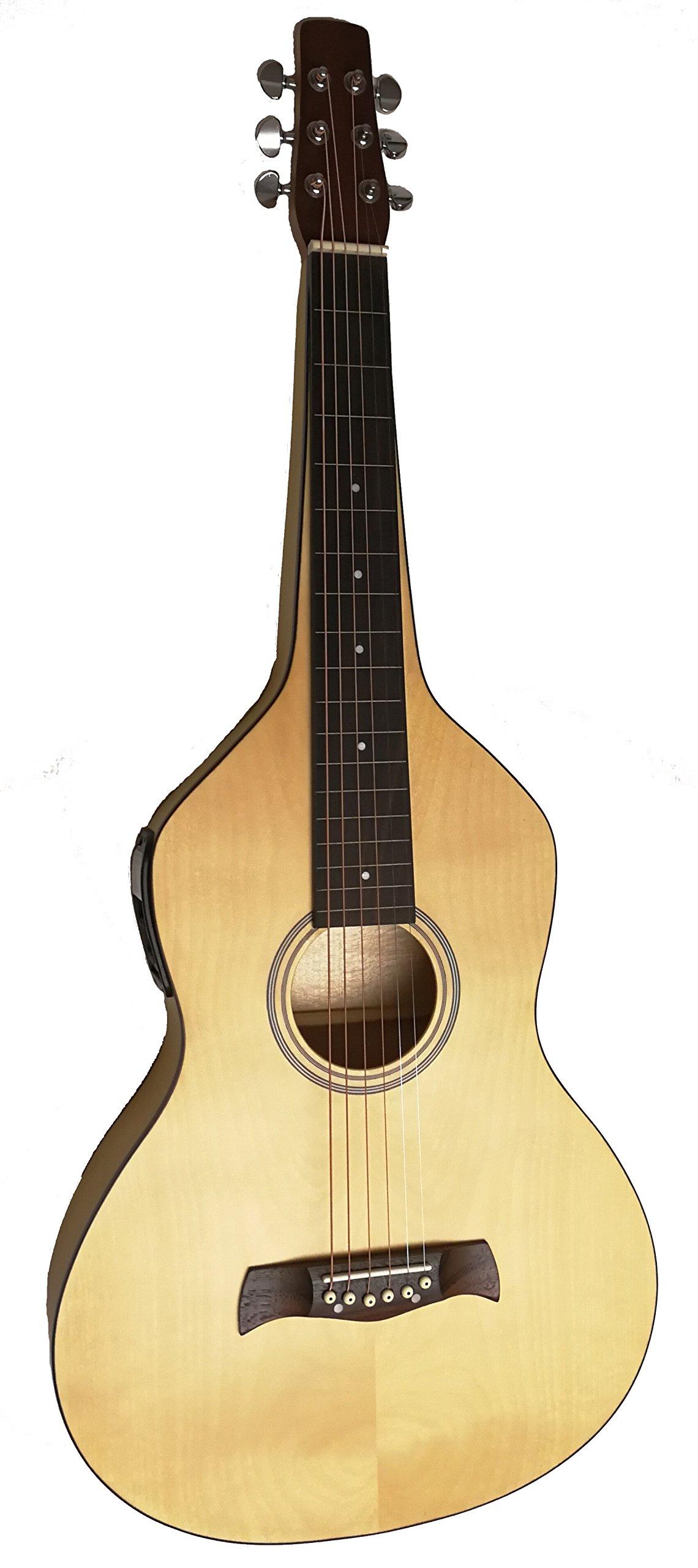 Cheap All Maple Weissenborn Style Electric Lap Steel Hawaiian Guitar Black Friday & Cyber Monday 2019