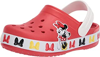 Crocs unisex-child Crocs Fun Lab Disney Clog | Mickey Mouse and Minnie Mouse Toddler Shoes