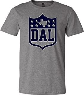 America's Finest Apparel Dallas Texas Shield Shirt - Men's