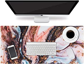 """HAOCOO Extended Mouse Pad Large Gaming Mouse Pad 35.4"""" ×15.7"""" Desk Pad Keyboard Pad XXL Desk Mat Big Laptop Protector Comp..."""
