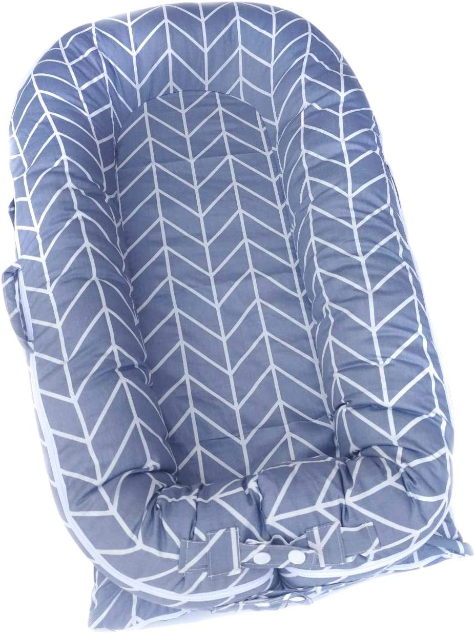 Valsonix Baby Nest Cover fits Dockatot Deluxe+ Caring Lines ...