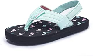 Sponsored Ad - Boys Girls Flip Flops Sandals with Back Strap for Toddler/Little Kid/Big Kid