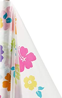 Amscan Hibiscus party-tablecovers, One Size, Multicolor