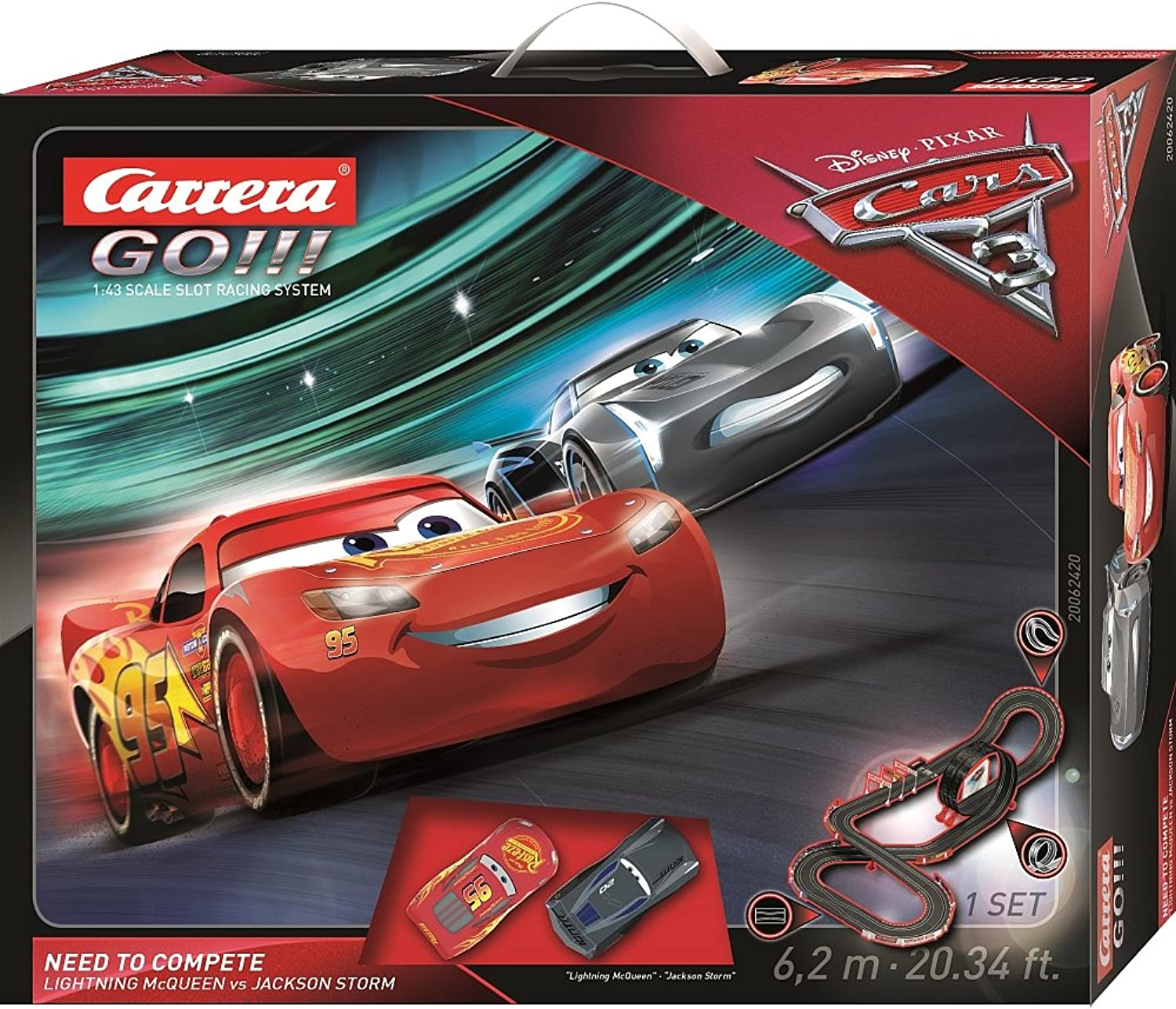 autorera GO. Disney Pixar autos 3Need To Compete 20062420.