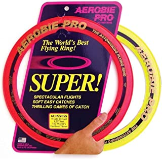"Aerobie Sprint Flying Ring, 13"" Diameter, Assorted Colors, Set of 2"