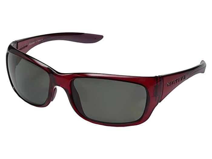 Native Eyewear Kannah (Crimson/Gray) Sport Sunglasses