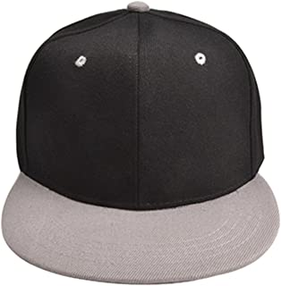 028088749ece0 Eric Hug Fashion Personalized Hip-hop Hats Men Women Solid Adjustable Sun Hat  Snapback Hip