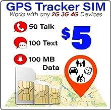 Roaming Pet Kid Senior Car Tracking Device $30 GSM SIM Card for GPS Trackers