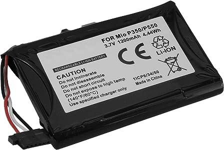 Batteria per sistema navigazione Becker  Falk  Medion  Mitac  Navigon  Clarion pi     vedi lista