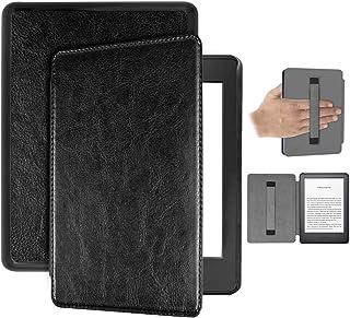 Capa Kindle 10ª geração com iluminação embutida – Auto Hibernação – Fecho Magnético – Alça leitura - Preta