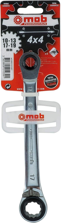 MOB Outillage 9003101001 Schlüssel 4 x 4 10 13 17 19 mm B00BB8DD9U | Die erste Reihe von umfassenden Spezifikationen für Kunden